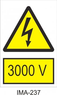Semnul de avertizare se poate realiza din autocolant imprimat, rezistent la exterior sau din pvc imprimat cu grosime de 1mm.